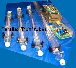 Picture of  laser tubes