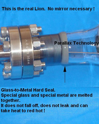 [laser with glass to metal hard seal]